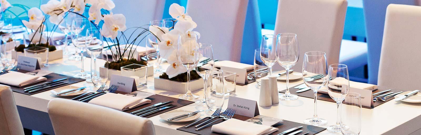 PROFIMIET Non-Food-Catering Eventdekoration Tischgedeck