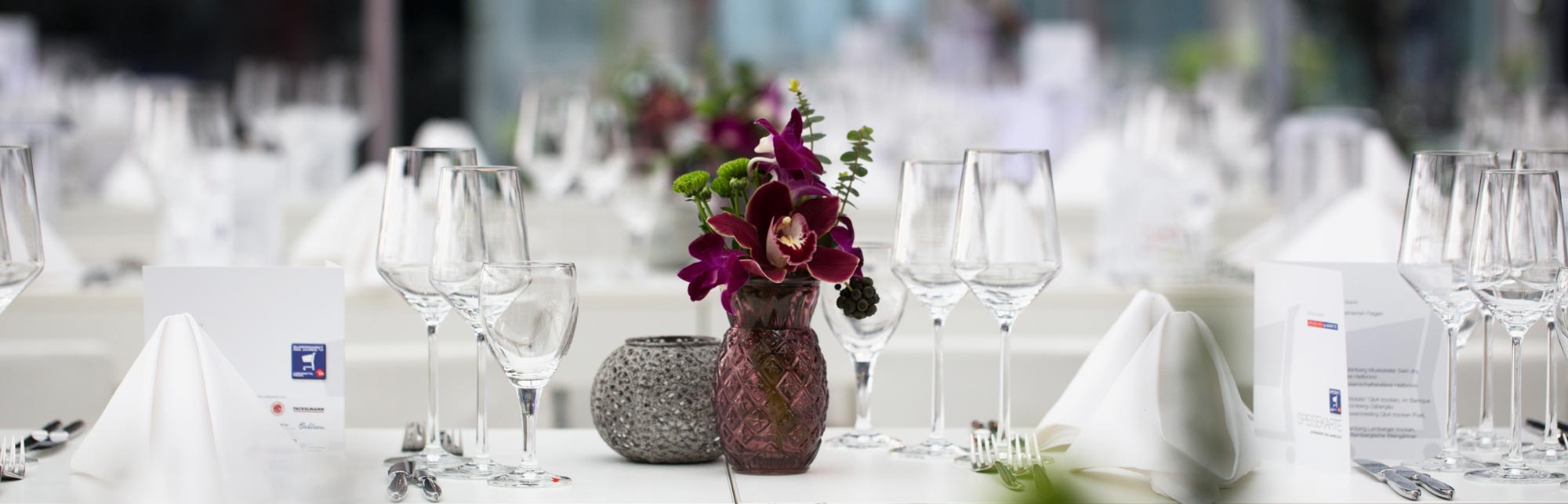 PROFIMIET Non-Food-Catering Produkte Dekoration Tablesetting
